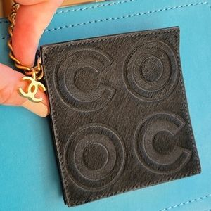 Chanel Coco Coin Purse Rare and Vintage LIKE NEW